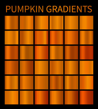 Orange gradients for Halloween banners, flyers, posters background