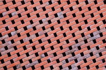 Textur Backsteinwand