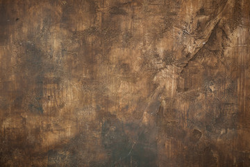Dark brown stucco Background texture