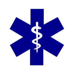 Star of life medical symbol