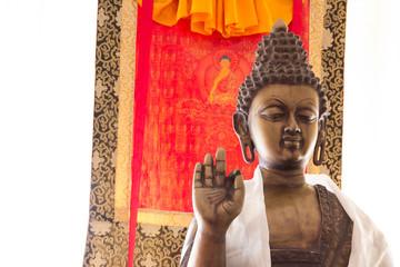Buddha statue, hand, mudra