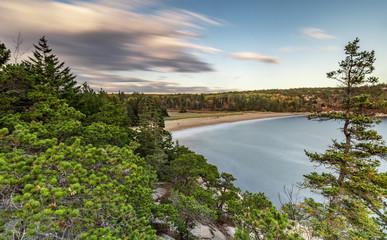 Sad Beach in Acadia National Park
