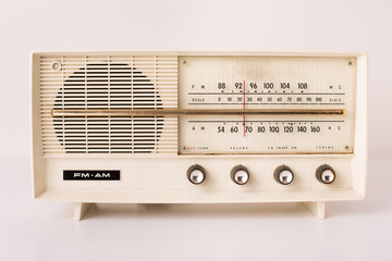 Retro Radio, Isolated in Studio