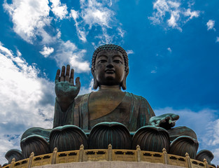 Big Buddha statue, Hong Kong