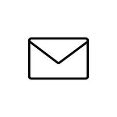 Email outline icon vector illustration  for graphic design, logo, web site, social media, mobile app, ui
