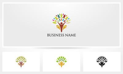 Family Parent Tree Logo