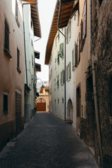 Gasse in Arco am Gardasee