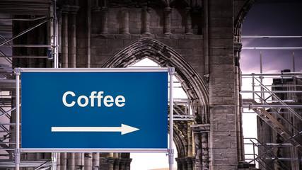 Schild 376 - Coffee