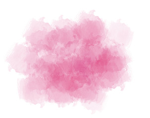Pink abstract watercolor background