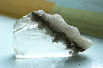 Growth Of Green Fluorite Crystals On Ordinary Rock Buy This Stock