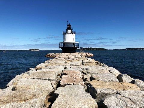 Spring Point Ledge Lighthouse, Portland, Maine, United States