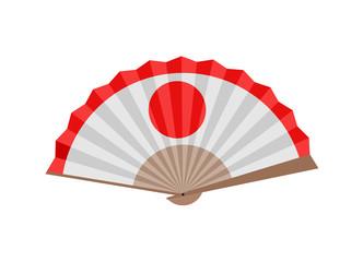 japanese fan illustration