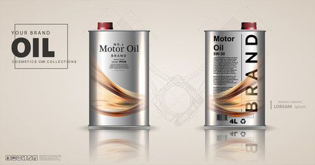 Canister vector jerrican or can of fuel gasoline for automobile and plastic jerrycan with petrol or oil illustration.Bottle engine oil on a background a motor-car piston