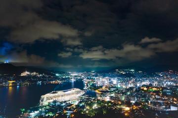 都市風景 長崎市 夜景