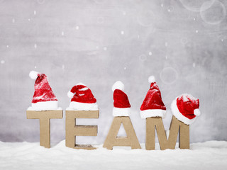 Team wishes Marry Christmas