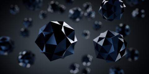 Schwarze Kristalle - Dunkle Materie