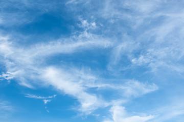 Clouds ans blue sky.