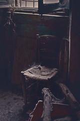 Soggiorno Abbandonato Casa del Maniaco