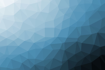Geometric colorful low poly background with triangular polygons. Abstract design.