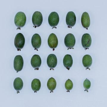 フェイジョアの果実