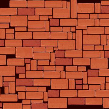 bricks wall pattern background