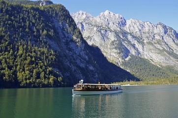 Schiff auf dem Königssee, Berchtesgaden