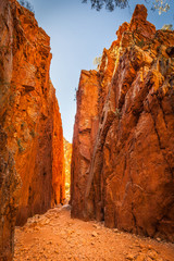Standley Chasm,Central Australia, Northern Territory, Australia