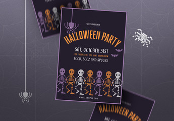 Halloween Poster Layout
