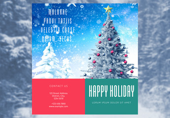 Festive Flyer Layout
