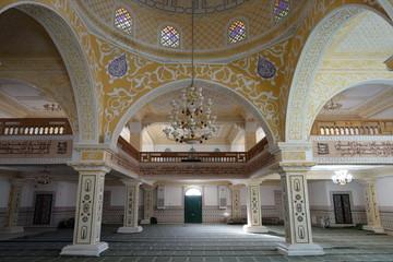 interior of mosque in Bou Saada, Algeria