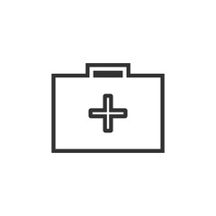 First aid icon, Medical symbol for your website design. Vector illustration
