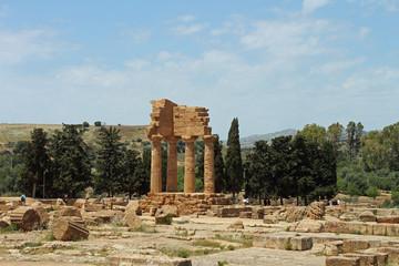 Sicile, site archéologique de Agrigento