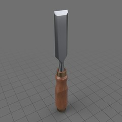 Wooden chisel 3