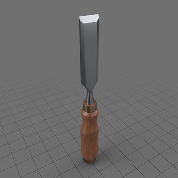 Wooden chisel 3