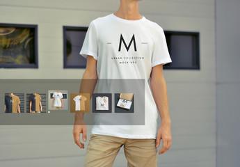 T-Shirt Product Mockup Set
