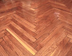 Seamless wood parquet texture, chevron light brown