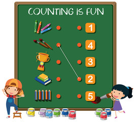 Counting is fun concept