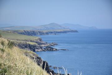 Land and Seascape Looking Inland, Dingle Peninsula, Ireland