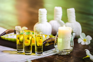 spa herbal and aromatherapy