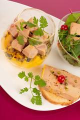 Foie gras festif