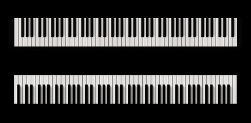 piano, 鍵盤