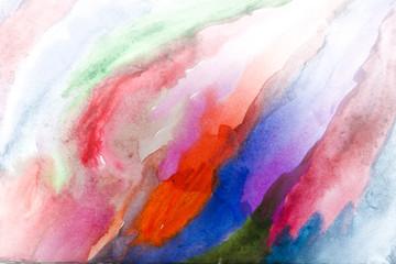 bright watercolor background,Color line