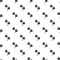 Sheep step pattern seamless vector repeat geometric for any web design