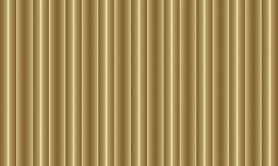 Gold vertical striped seamless pattern background