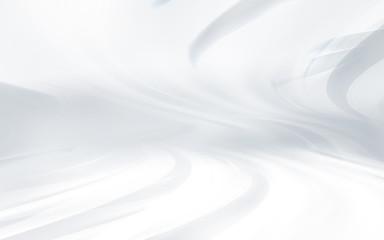 Fashion horizon and futuristic white background
