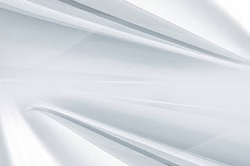 White gray perspective horizontal background. Blurred pattern lines. Abstract creative graphic.