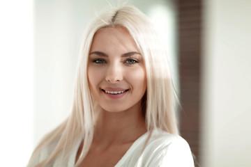 Portrait of confident young business woman