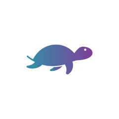Tortoise icon vector drawing