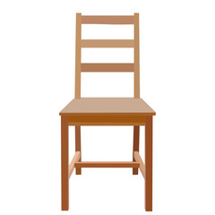 on a white background chair isolated