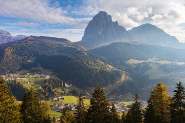 Green Valley of South Tyrol